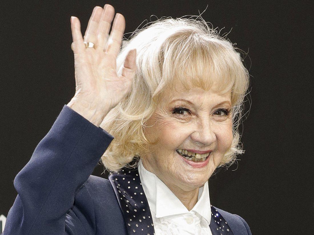 Schauspielerin Liselotte Pulver.