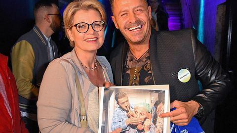 Bekannte aus alten Lindenstraße-Zeiten: Andrea Spatzek und Willi Herren. - Foto: Tristar Media/Getty Images