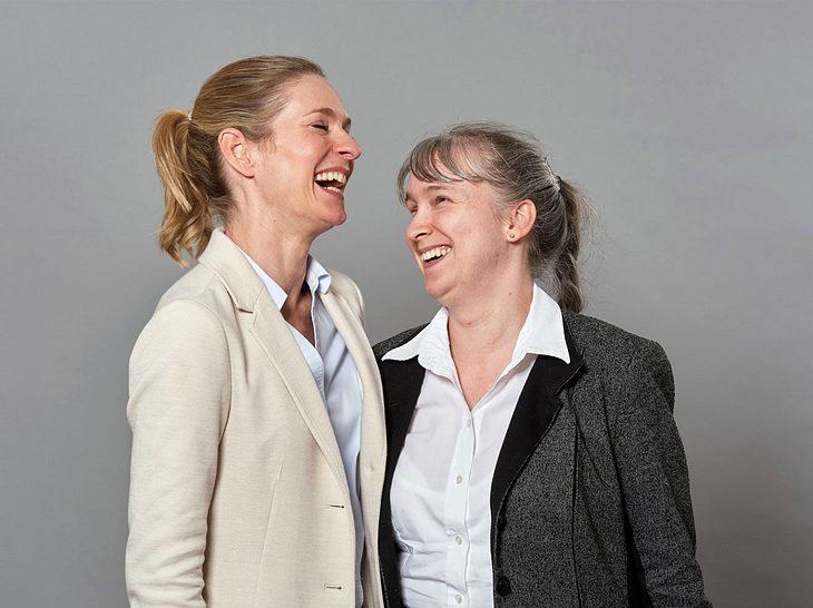 Lisa Martinek und Pamela Pabst