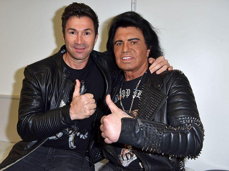 Costa Cordalis mit seinem Sohn Lucas.