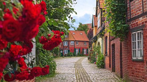 Lüneburg Altstadt - Foto: yrabota / iStock