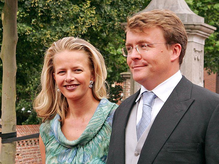 Prinzessin Mabel und Prinz Johan Friso waren seit 2004 verheiratet gewesen.