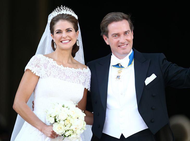 Das Brautkleid von Madeleine von Schweden.