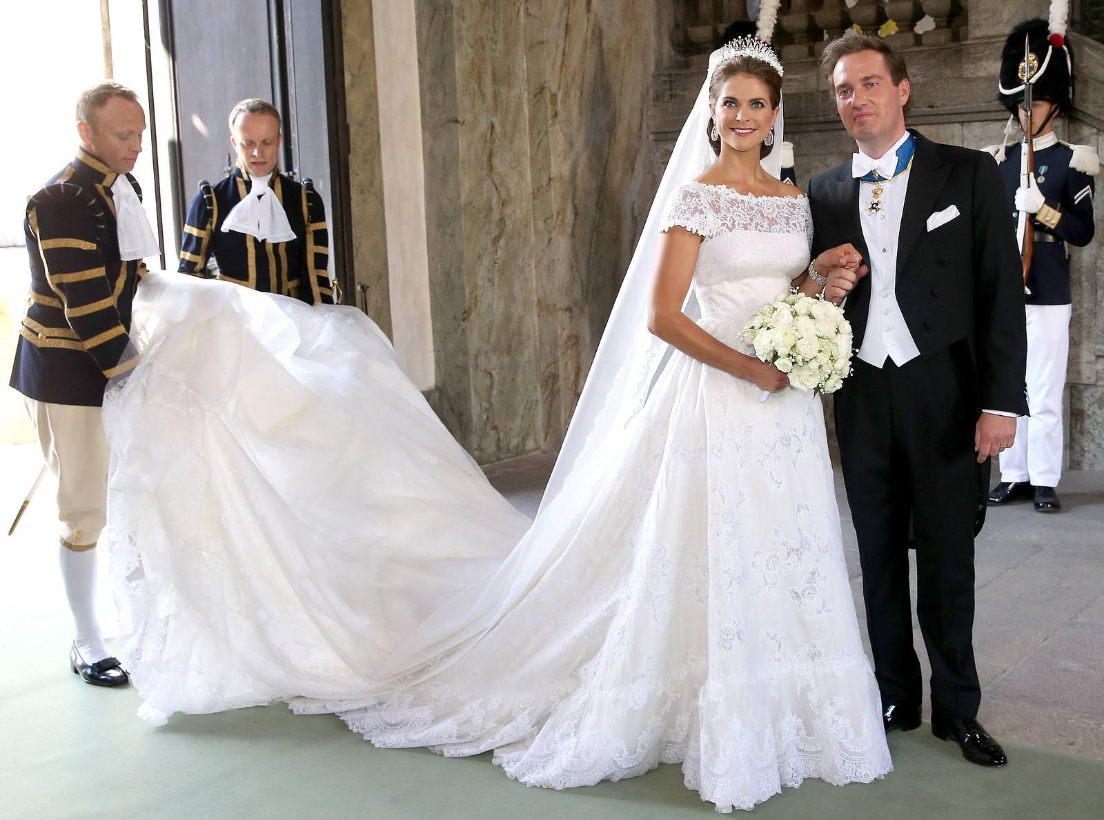 Das Brautkleid von Madeleine von Schweden  Victoria, Kate
