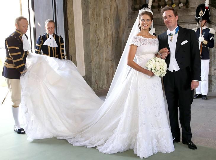 Das Brautkleid von Madeleine von Schweden | Victoria, Kate Middleton