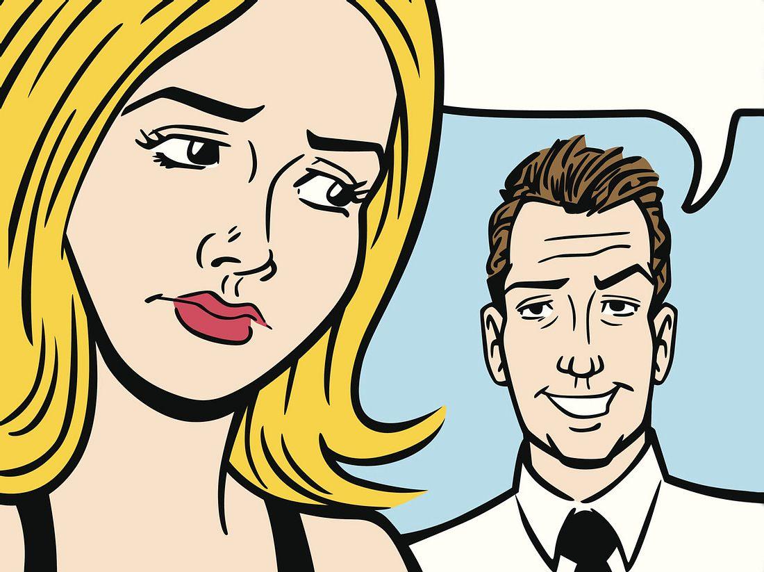 In der Beziehung kann es manchmal schwierig sein, Männer richtig zu verstehen.