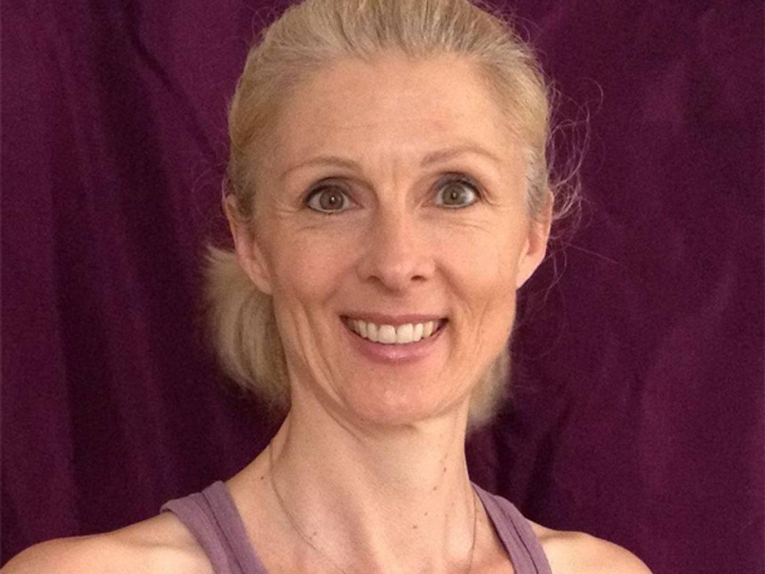 Janne Heinssen ist Yoga-Lehrerin in Hamburg-Bahrenfeld.