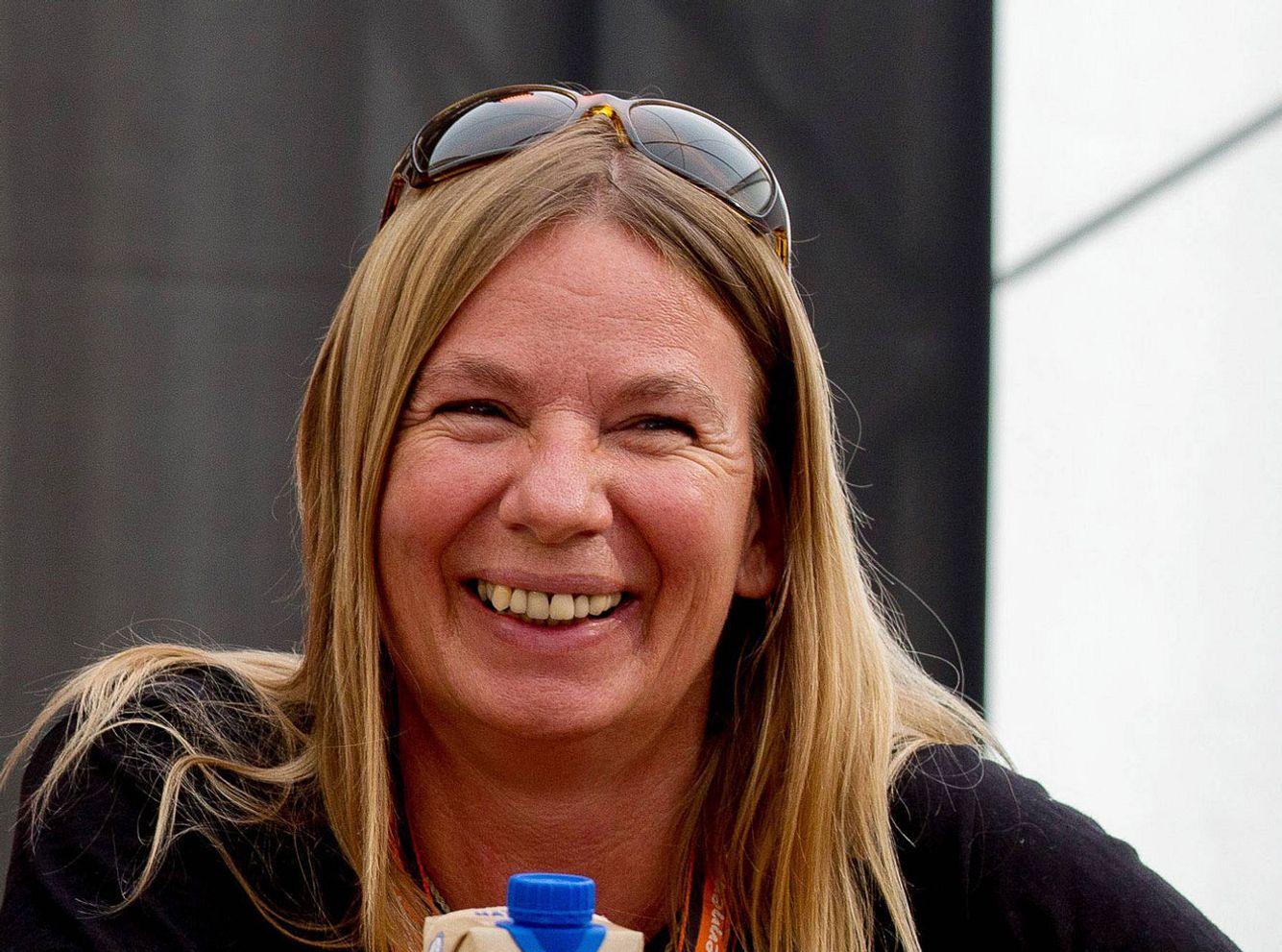 Auswanderin Manuela Reimann.