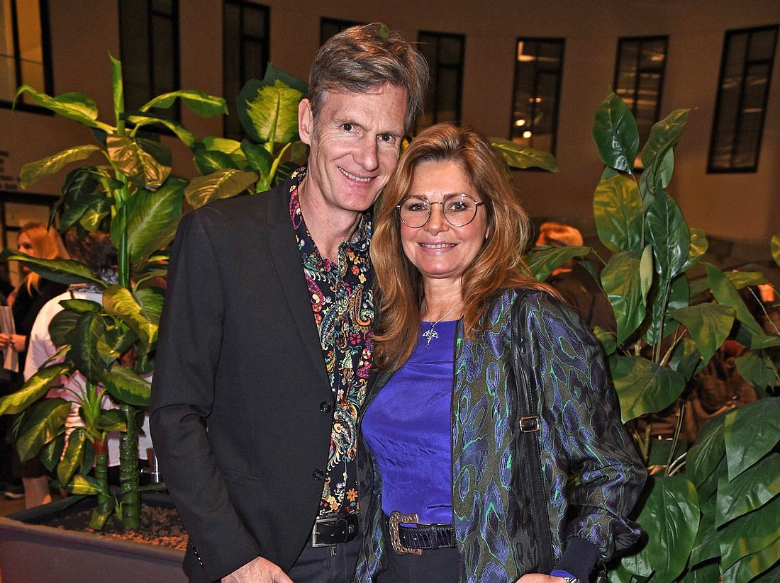 Maren Gilzer mit Ehemann Harry Kuhlmann.