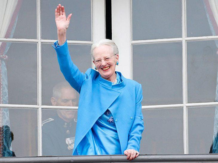 Margarete von Dänemark am 16. April 2016 in Kopenhagen.
