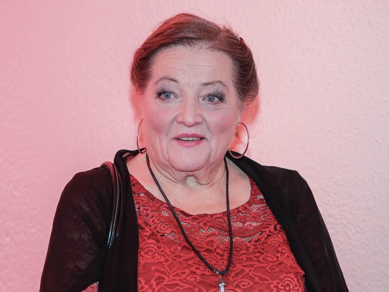 Schauspielerin Marianne Sägebrecht 2019 in Suhl.