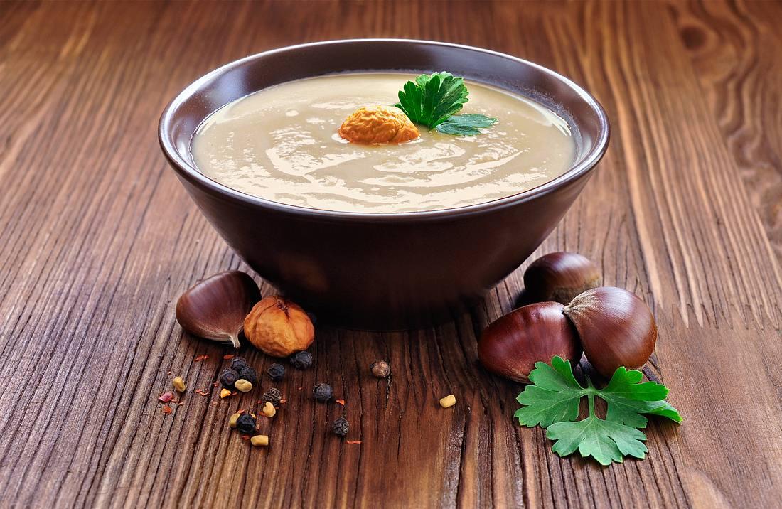 Köstliche Maronensuppe