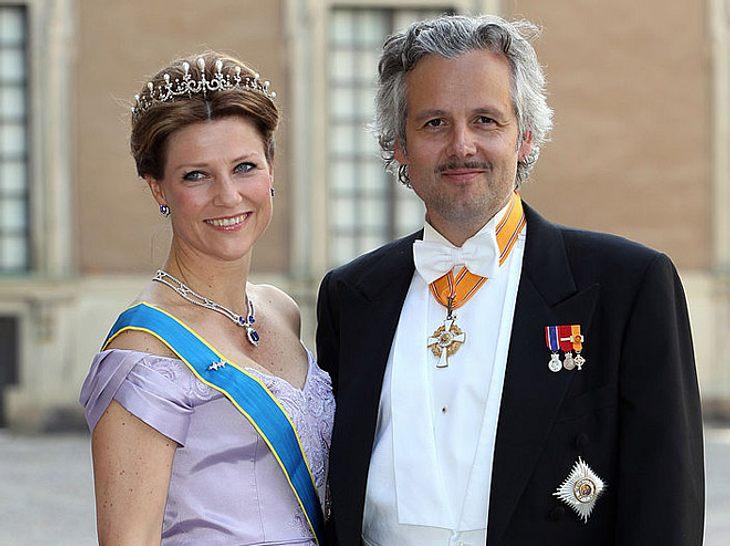 Märtha Louise mit ihrem jetzigen Ex-Mann.