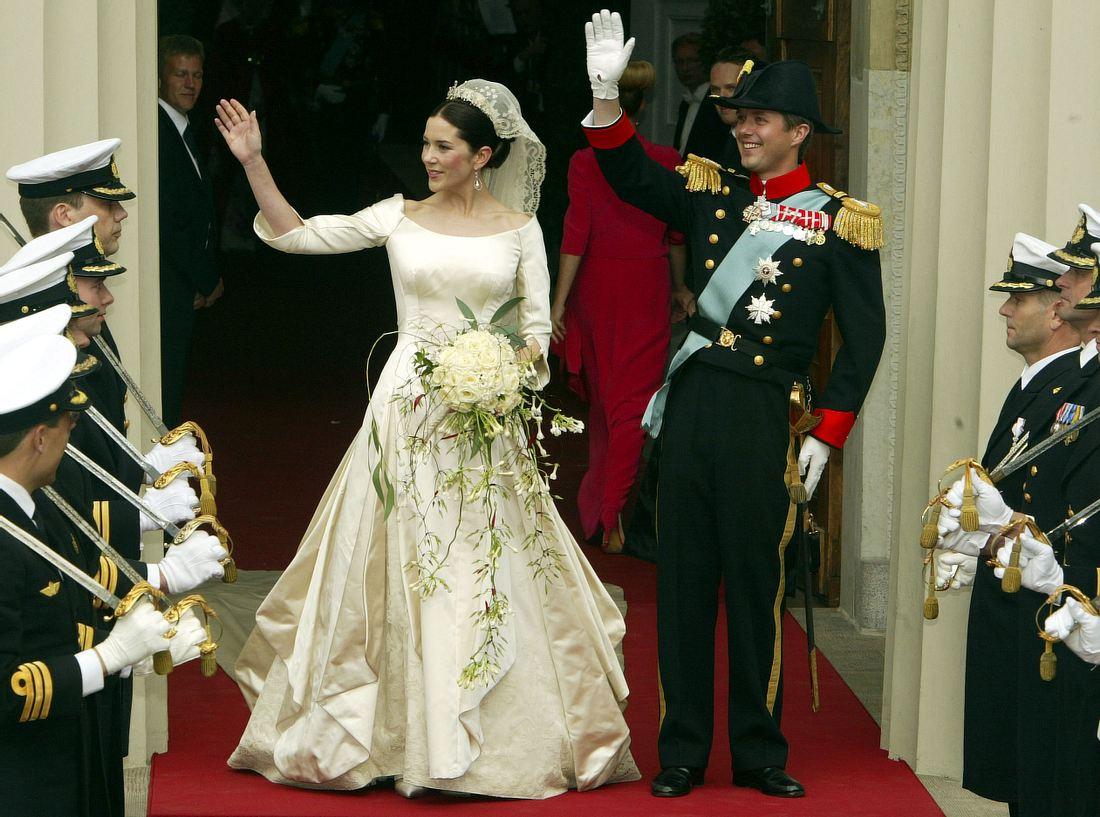 Das Brautkleid von Mary zu Dänemark  Victoria, Kate Middleton