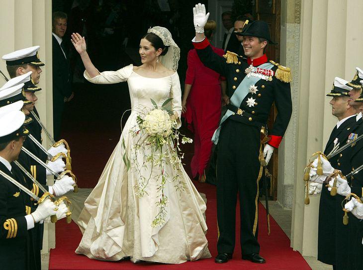 Das Brautkleid von Mary zu Dänemark | Victoria, Kate Middleton & Co: