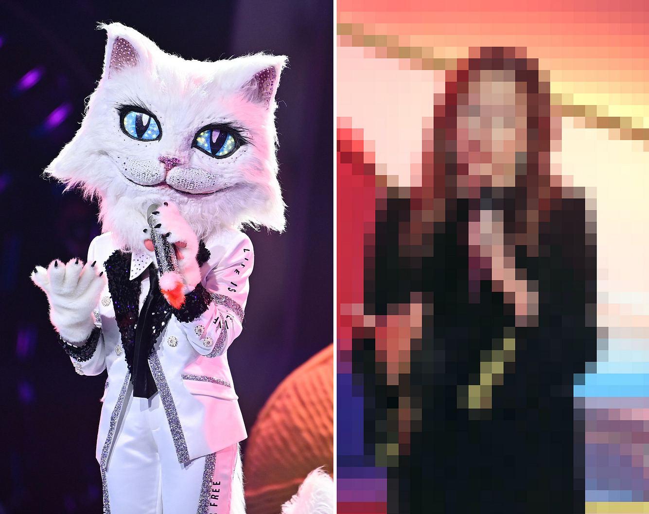 Die Katze bei 'Masked Singer' ist eine bekannte Schlagersängerin.