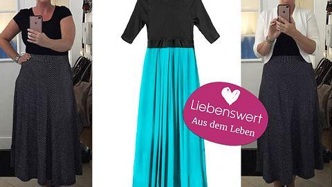 Modebloggerin Anja: Ein Maxikleid ist klassisch und feminin. - Foto: kurven_blond / Instagram / Tarzhanova / iStock