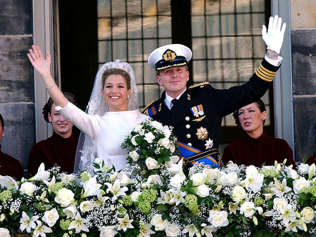 Máxima der Niederlande und Willem-Alexander feiern 15. Hochzeitstag
