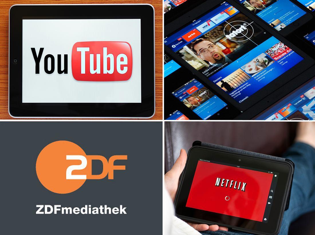 Mittlerweile haben sich viele Mediatheken und Streaming-Dienste etabliert.