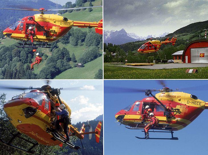 Medicopter 117 im Einsatz