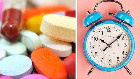 Die Medikamenten-Uhr: Wann Sie welches Mittel einnehmen sollten - Foto: lordache / exopixel / iStock