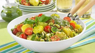 Mediterraner Kartoffelsalat. - Foto: House of Food