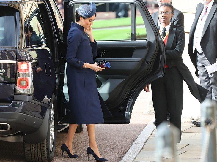 Hochzeit von Eugenie: Meghan Markle setzt wieder auf Givenchy