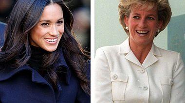 Sind sich Meghan Markle und Diana wirklich so ähnlich? - Foto: Max Mumby/Indigo/Getty Images // Patrick Riviere/Getty Images