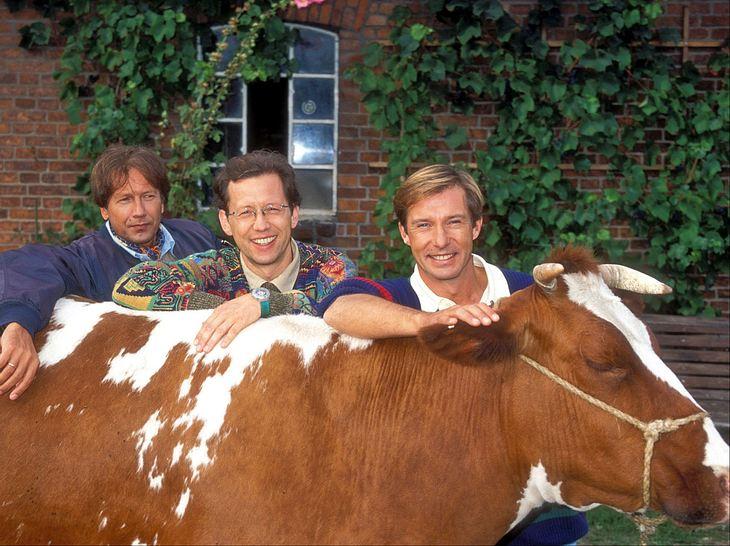 Michael Lesch, Bernd Herzsprung und Stephan Schwartz in Freunde fürs Leben.