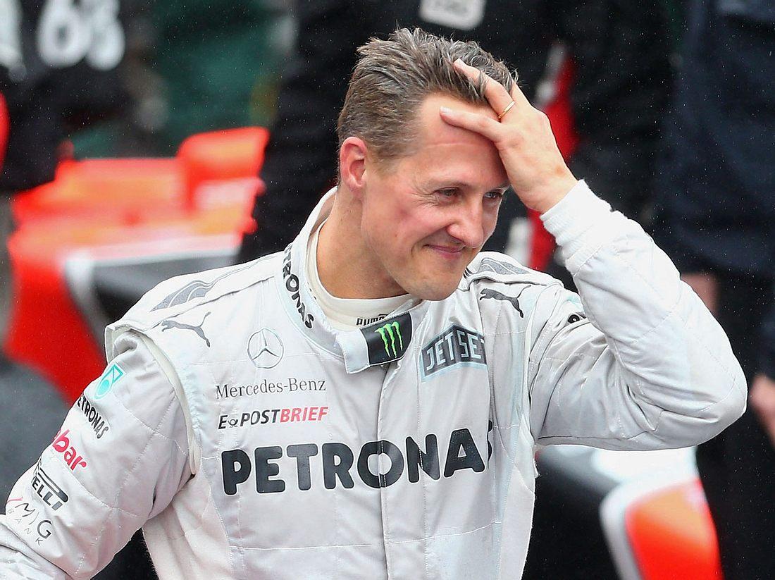 Michael Schumacher scheint es immer besser zu gehen.
