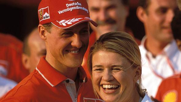 Michael und Corinna Schumacher. - Foto: IMAGO / HochZwei