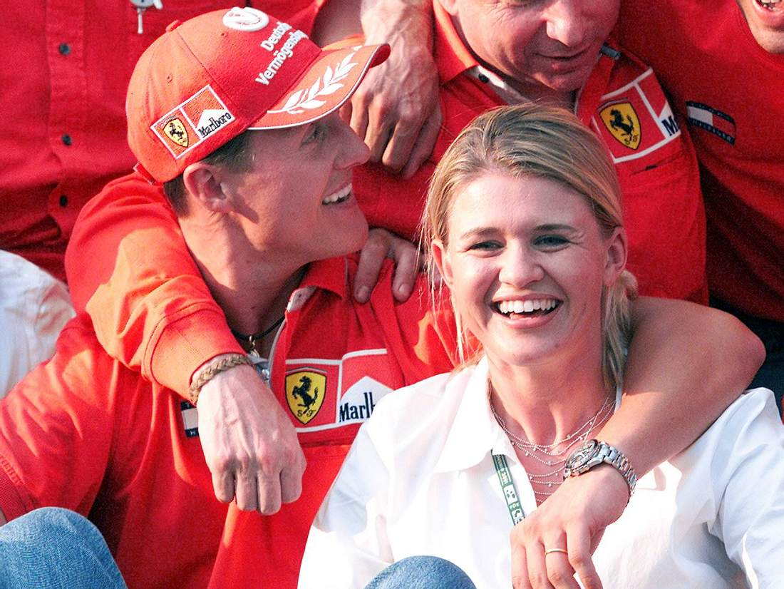 Michael und Corinna Schumacher.