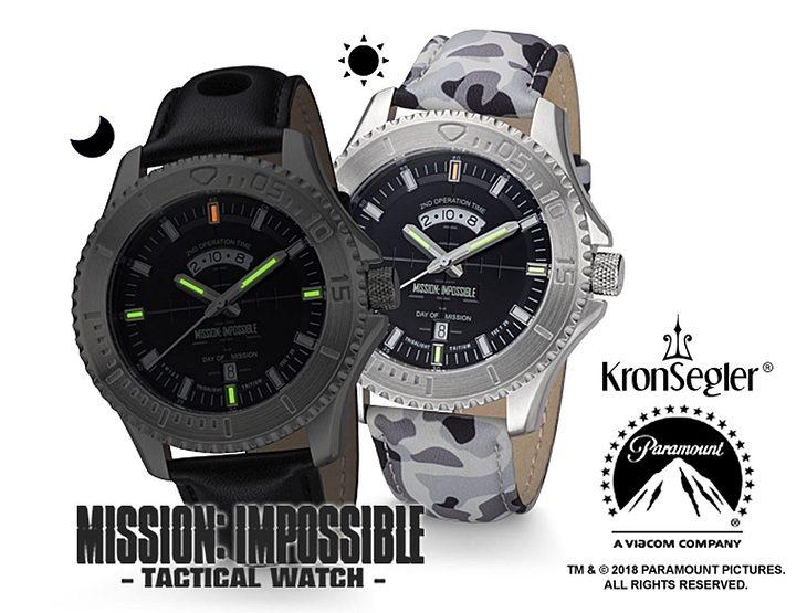 Gewinne KronSegler MISSION: IMPOSSIBLE Tritium H3 Uhr