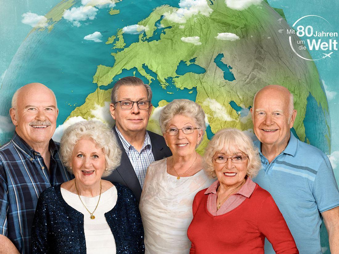 In der Reihe Mit 80 Jahren um die Welt verwirklichen sechs Senioren ihre Träume.