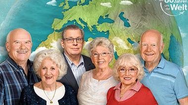 In der Reihe Mit 80 Jahren um die Welt verwirklichen sechs Senioren ihre Träume. - Foto: ZDF / Svea Pietschmann / Alpenblick GmbH / KNSK