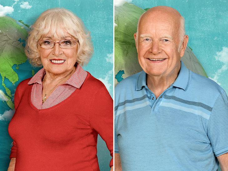 Bei Mit 80 Jahren um die Welt verstanden sich Erika und Norbert besonders gut.