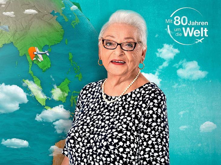 Bei Mit 80 Jahren um die Welt spricht Gisela über ihr trauriges Schicksal.