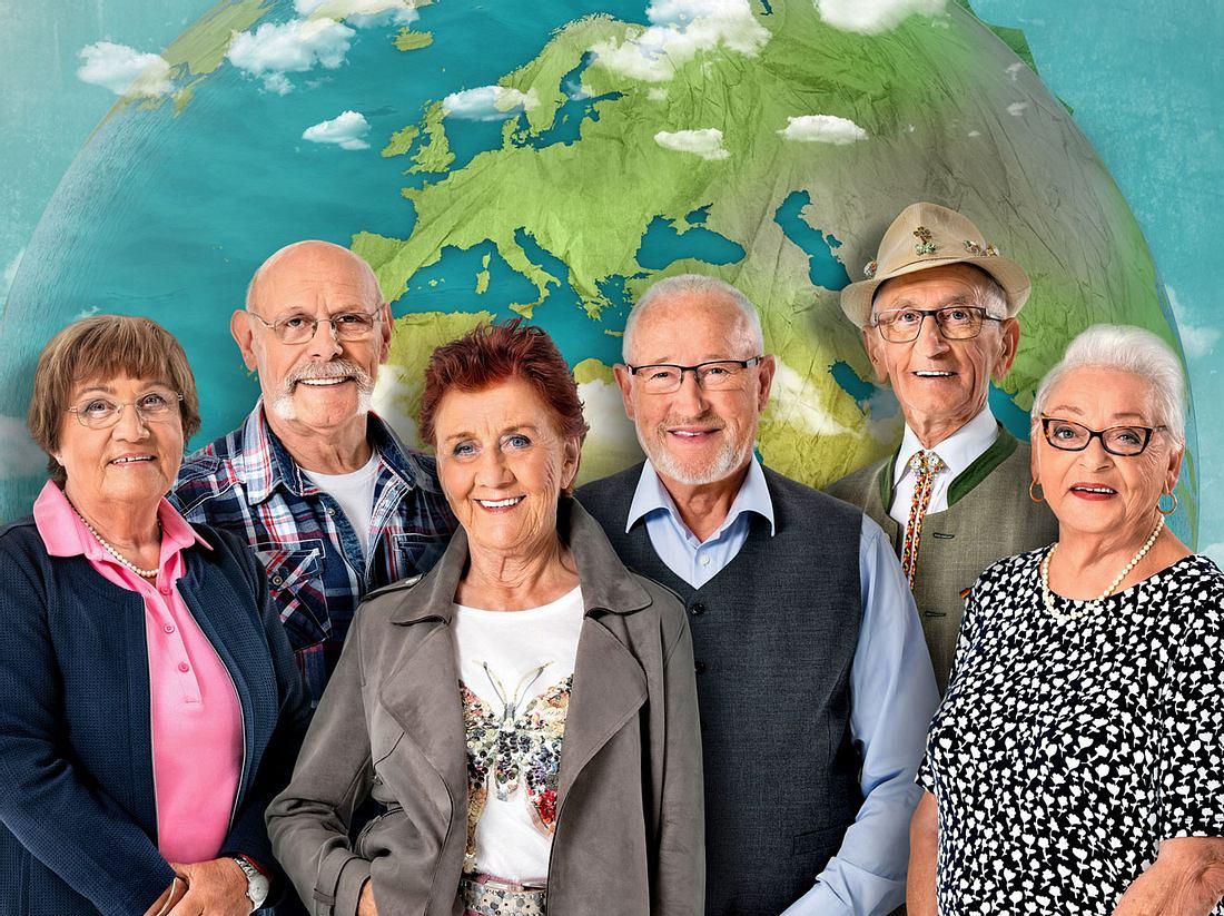 Mit 80 Jahren um die Welt begleitet wieder sechs Senioren auf Reisen.