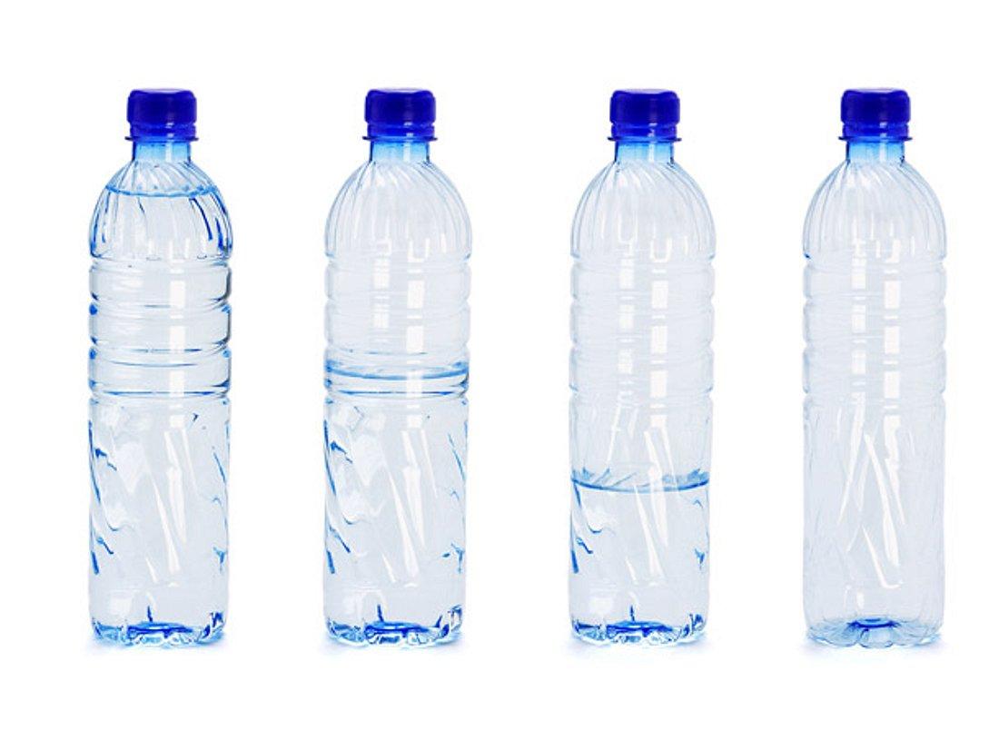 Wasserflaschen Mogelpackung des Jahres