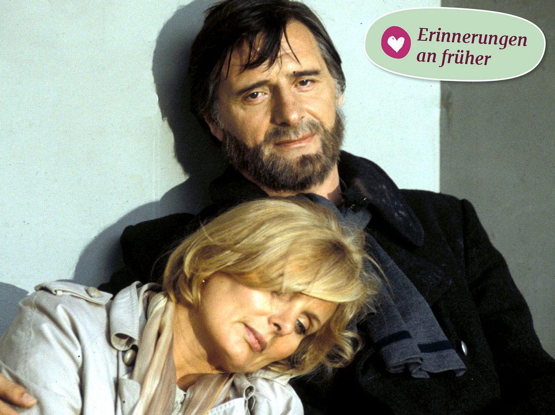 Monaco Franze (Helmut Fischer) mit seiner Frau Annette (Ruth Maria Kubitschek).