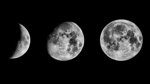 Diesen Einfluss haben die Mondphasen auf uns