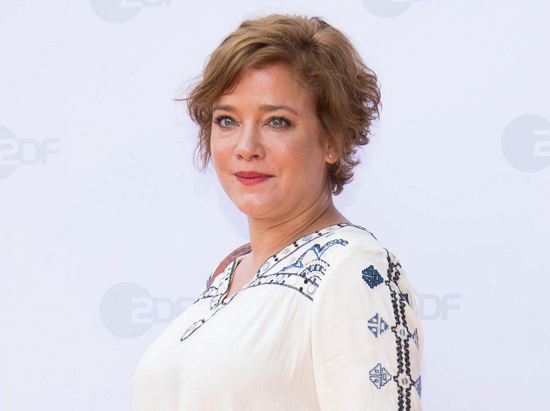 Schauspielerin Muriel Baumeister.
