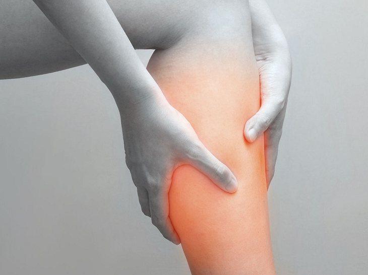 Muskelkrämpfe sind sehr schmerzhaft.