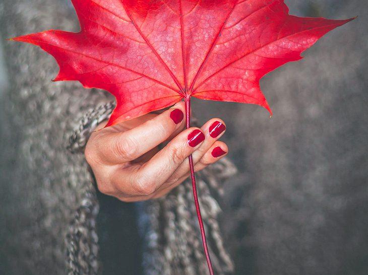 Nagellack Schöne Farben Die Im Herbst Im Trend Liegen