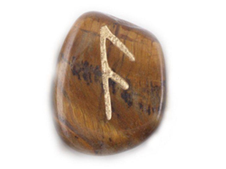 Die Namensrune Ansuz mit dem Zahlenwert 4.