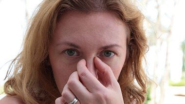 Nasennebenhöhlenentzündung: Wenn der Schnupfen wandert