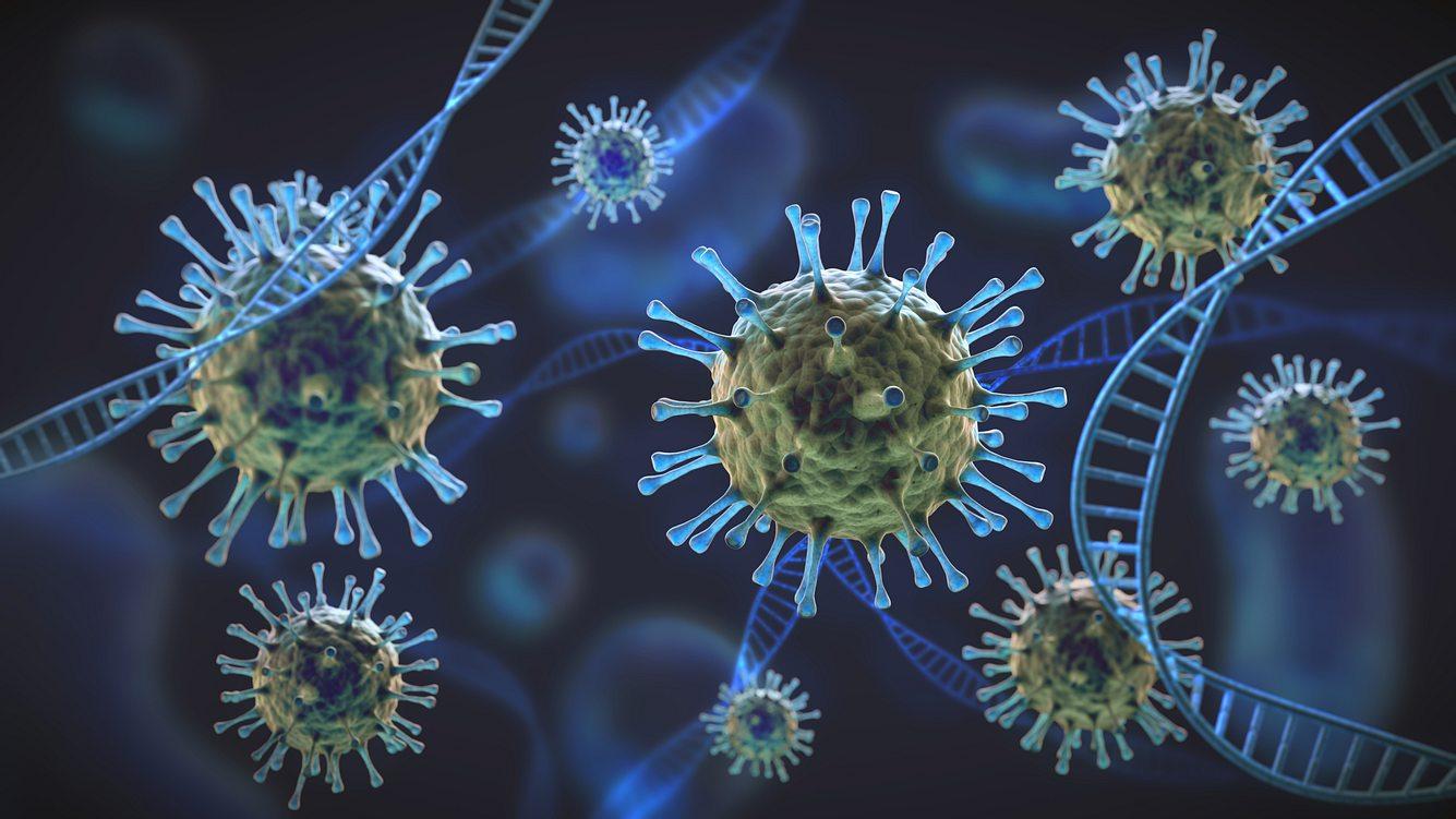 Viren wie das Coronavirus können mutieren.