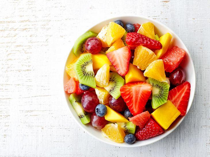 Obst zum Frühstück lässt die Pfunde purzeln