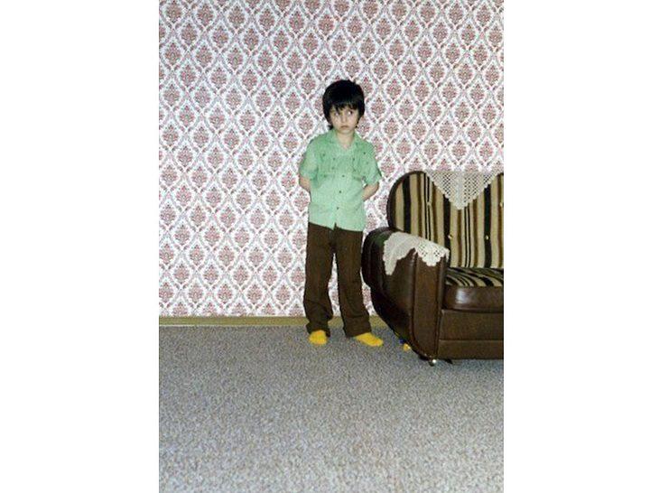 Özcan Cosar als Kind