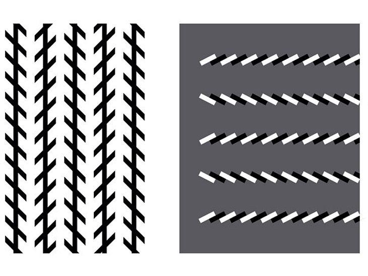 Krumm und schief? Diese Balken sind parallel - auch wenn es nicht so aussieht.
